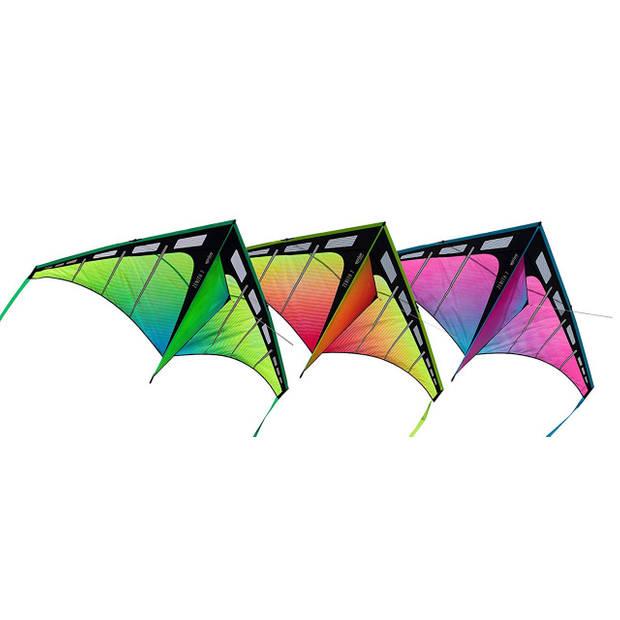 Prism Zenith 7 Aurora - Single Line Kite - Green