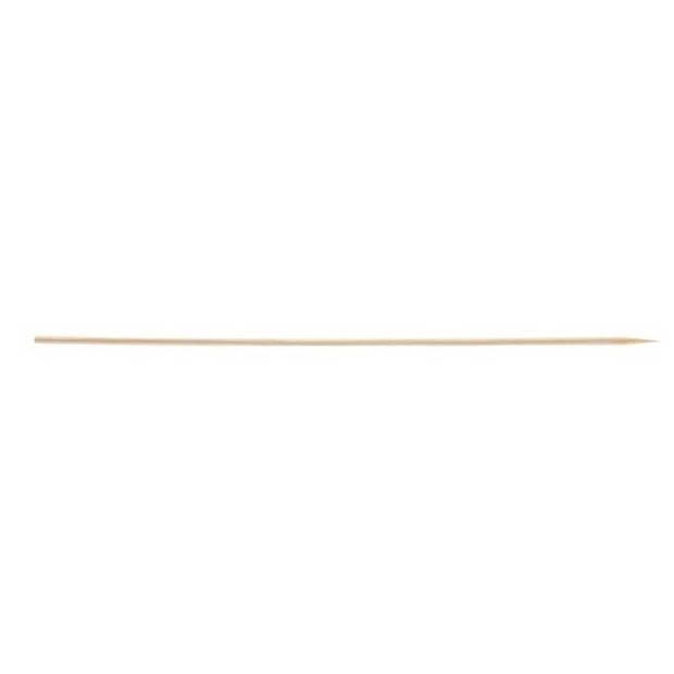 100x Grote/lange houten prikkers 20 cm - 100 stuks - Sate/sjasliek/shaslick/hapjes/traktatie stokjes