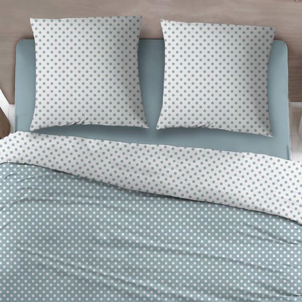 Snoozing Pierrot dekbedovertrek - Lits-jumeaux (270x200/220 cm + 2 slopen) - Katoen - Blue