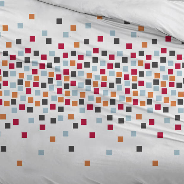 Snoozing Pieter dekbedovertrek - 2-persoons (200x200/220 cm + 2 slopen) - Katoen - Multi