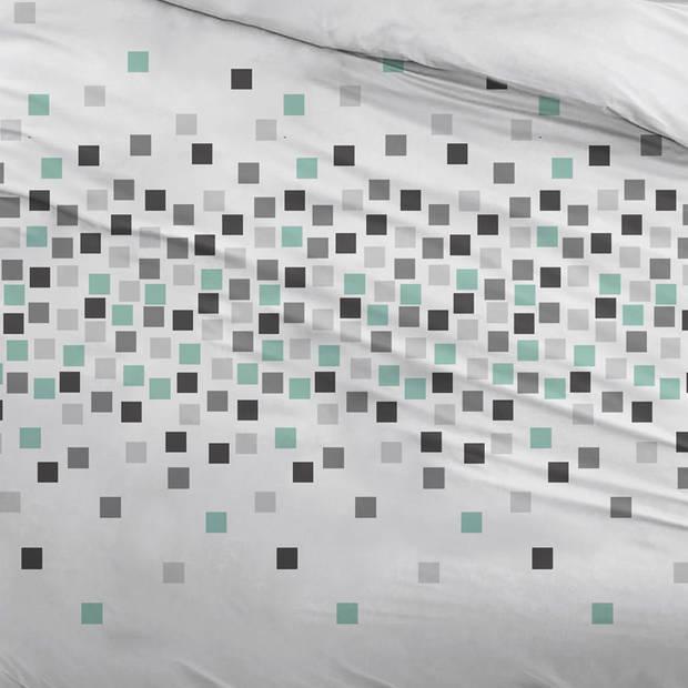 Snoozing Pieter dekbedovertrek - 2-persoons (200x200/220 cm + 2 slopen) - Katoen - Gray