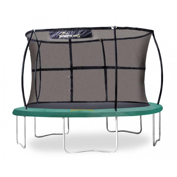 Jumpking trampoline met veiligheidsnet JumpPod Classic 366 cm groen