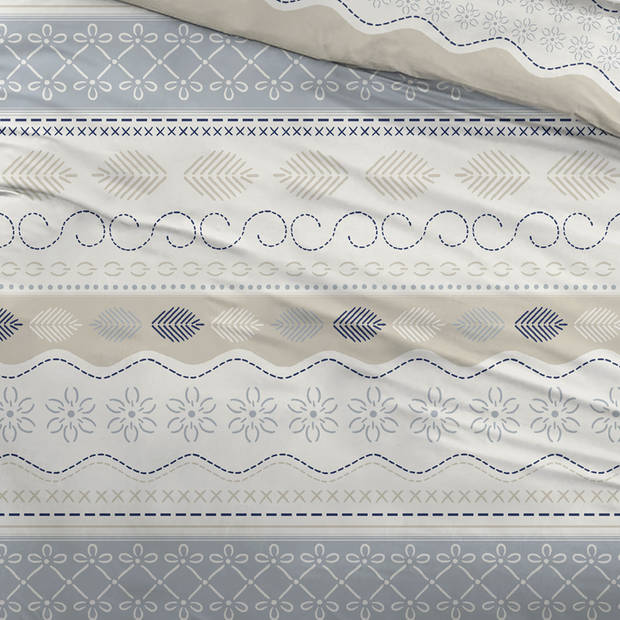 Snoozing Pitou dekbedovertrek - Lits-jumeaux (270x200/220 cm + 2 slopen) - Katoen - Multi