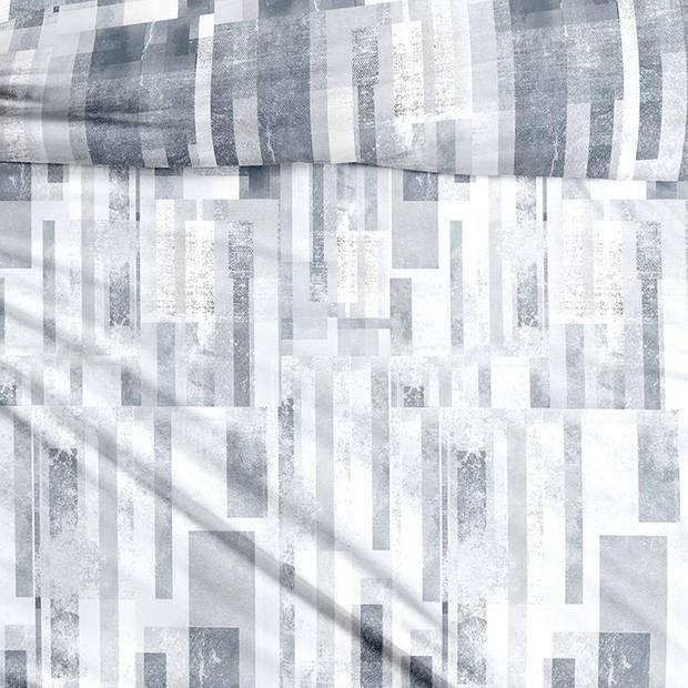 Snoozing Severine dekbedovertrek - 1-persoons (140x200/220 cm + 1 sloop) - Katoen satijn - Multi