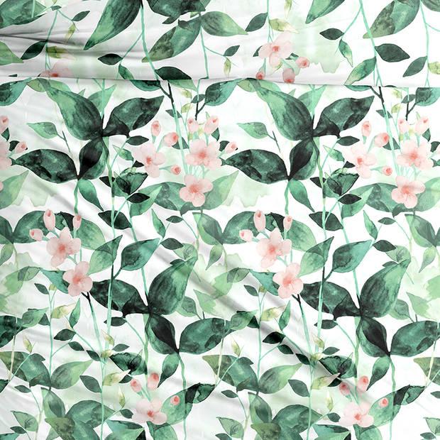 Snoozing Stefanie dekbedovertrek - 1-persoons (140x200/220 cm + 1 sloop) - Katoen satijn - Multi
