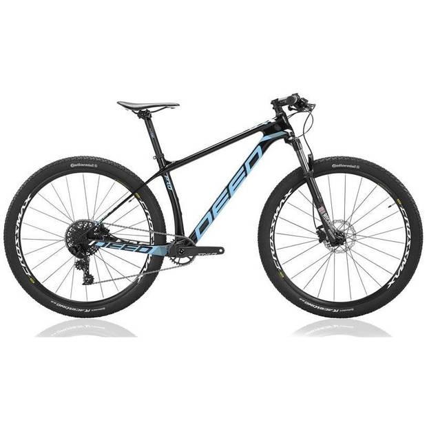 Deed Vector Pro 294 Hardtail Mountainbike 29 Inch Heren 11V Hydraulische schijfrem Blauw/Zwart