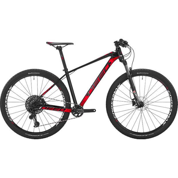 Deed Vector 292 Hardtail Mountainbike 29 Inch Heren 12V Hydraulische schijfrem Zwart/Rood