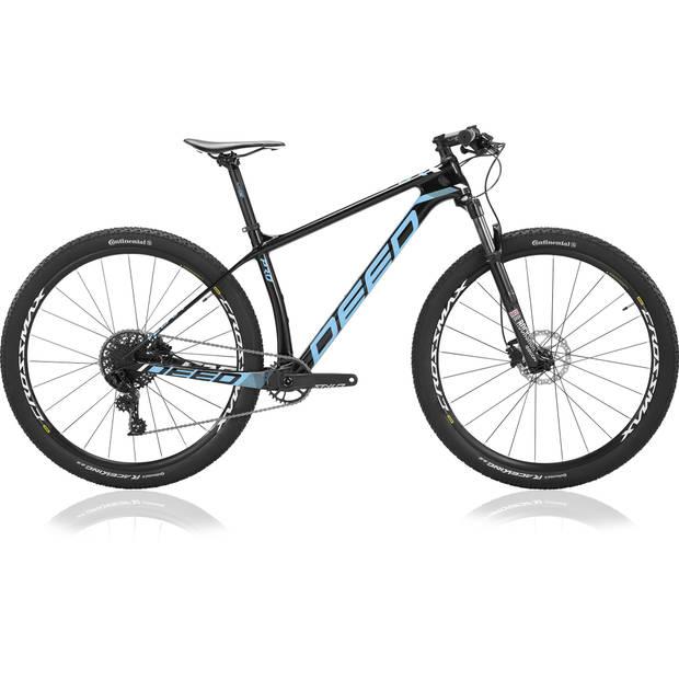 Deed Hardtail Mountainbike Vector Pro 293 29 Inch 39 cm Heren 11V Hydraulische schijfrem Blauw/Zwart
