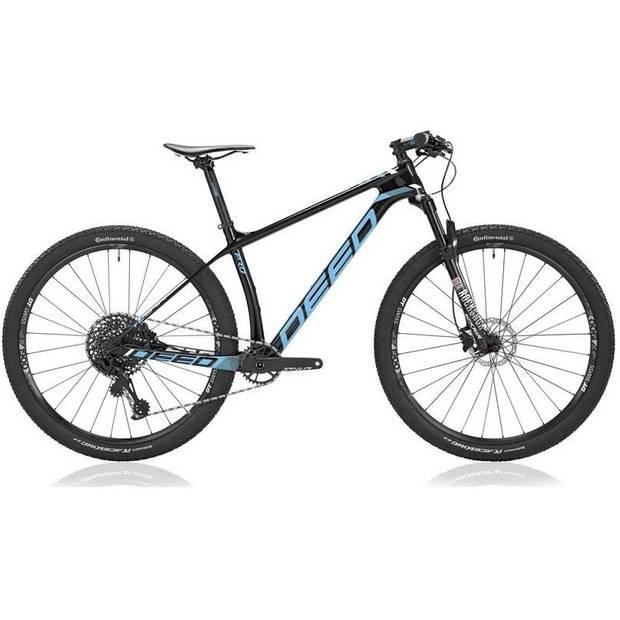 Deed Hardtail Mountainbike Vector Pro 291 29 Inch 39 cm Heren 12V Hydraulische schijfrem Blauw
