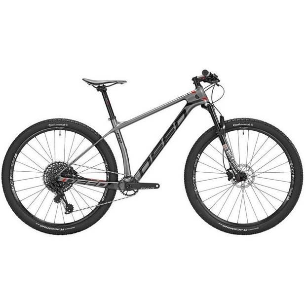 Deed Vector Pro 291 Hardtail Mountainbike 29 Inch Heren 12V Hydraulische schijfrem Grijs