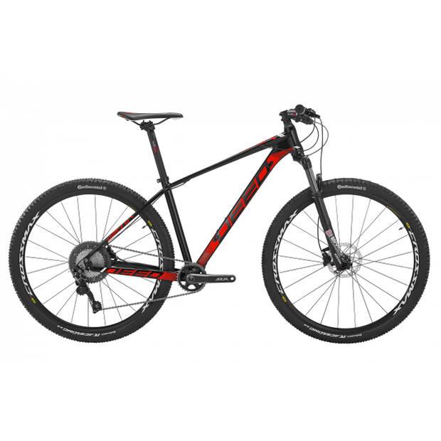 Deed Vector 293 Hardtail Mountainbike 29 Inch Heren 11V Hydraulische schijfrem Zwart/Rood