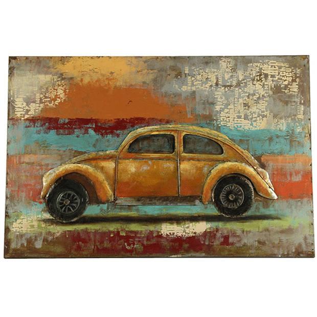 Metalen Schilderij VW Retraw - 80xH120 cm