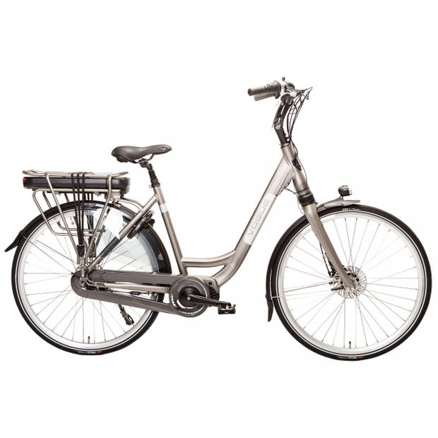 Vogue Elektrische Stadsfiets Infinity MDS 28 Inch 53 cm Dames 8V Rollerbrake Matgrijs