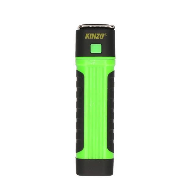 Werklamp / zaklamp COB + LED verlichting groen