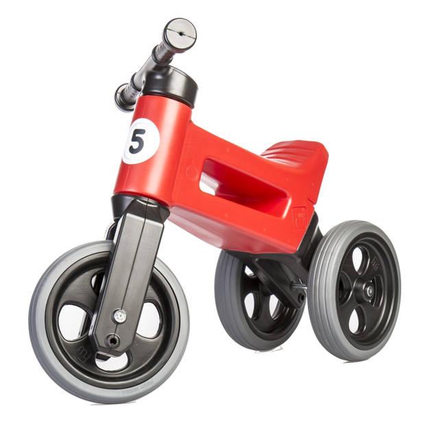 Funny Wheels Loopfiets met 3 wielen Rider Sport Cool loopfiets Junior Rood