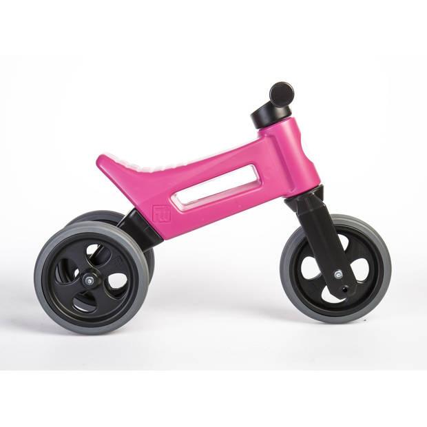 Funny Wheels Loopfiets met 3 wielen Rider Sport Cool loopfiets Junior Roze