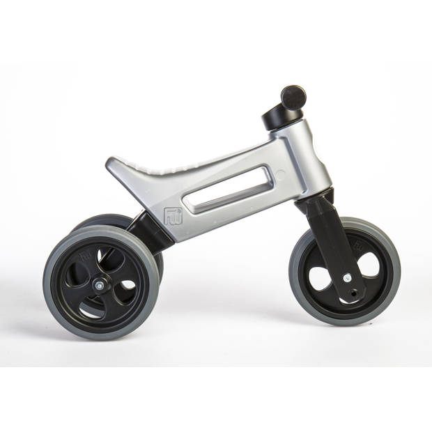 Funny Wheels Loopfiets met 3 wielen Rider Sport Cool loopfiets Junior Grijs
