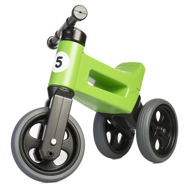 Funny Wheels Loopfiets met 3 wielen Rider Sport Cool loopfiets Junior Groen
