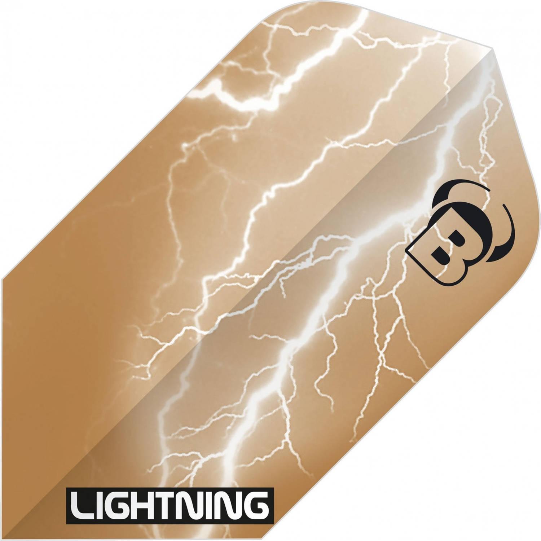 Korting Bull's Flights Lightning Slim 100 Micron Bruin
