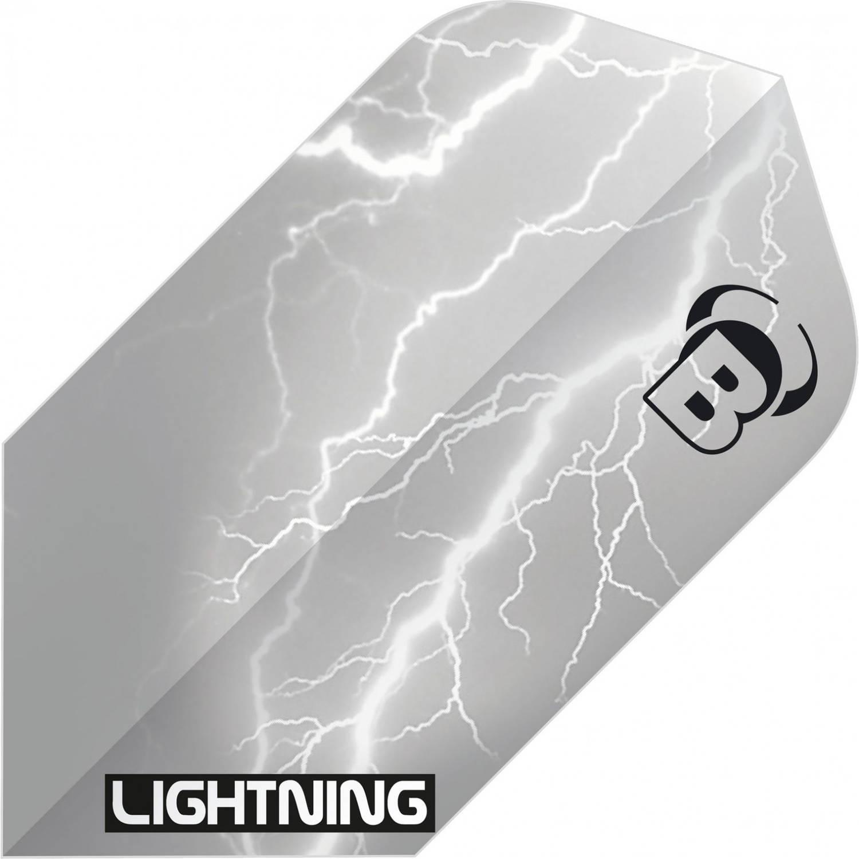 Korting Bull's Flights Lightning Slim 100 Micron Grijs