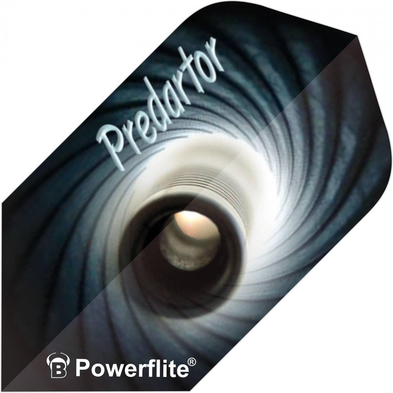 Korting Bull's Flights Powerflite Predartor Slim 100 Micron Grijs