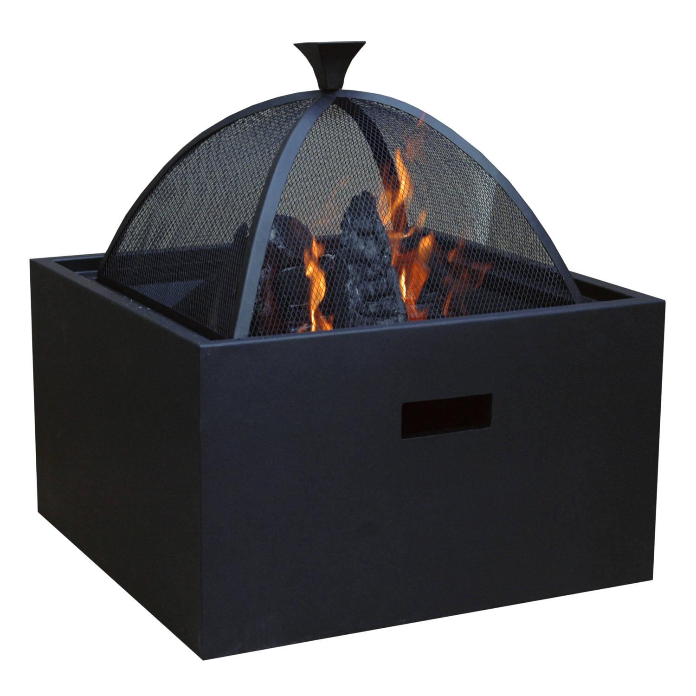 Sol Vuurkorf 3 in 1 vuurkorf barbecue bijzettafel