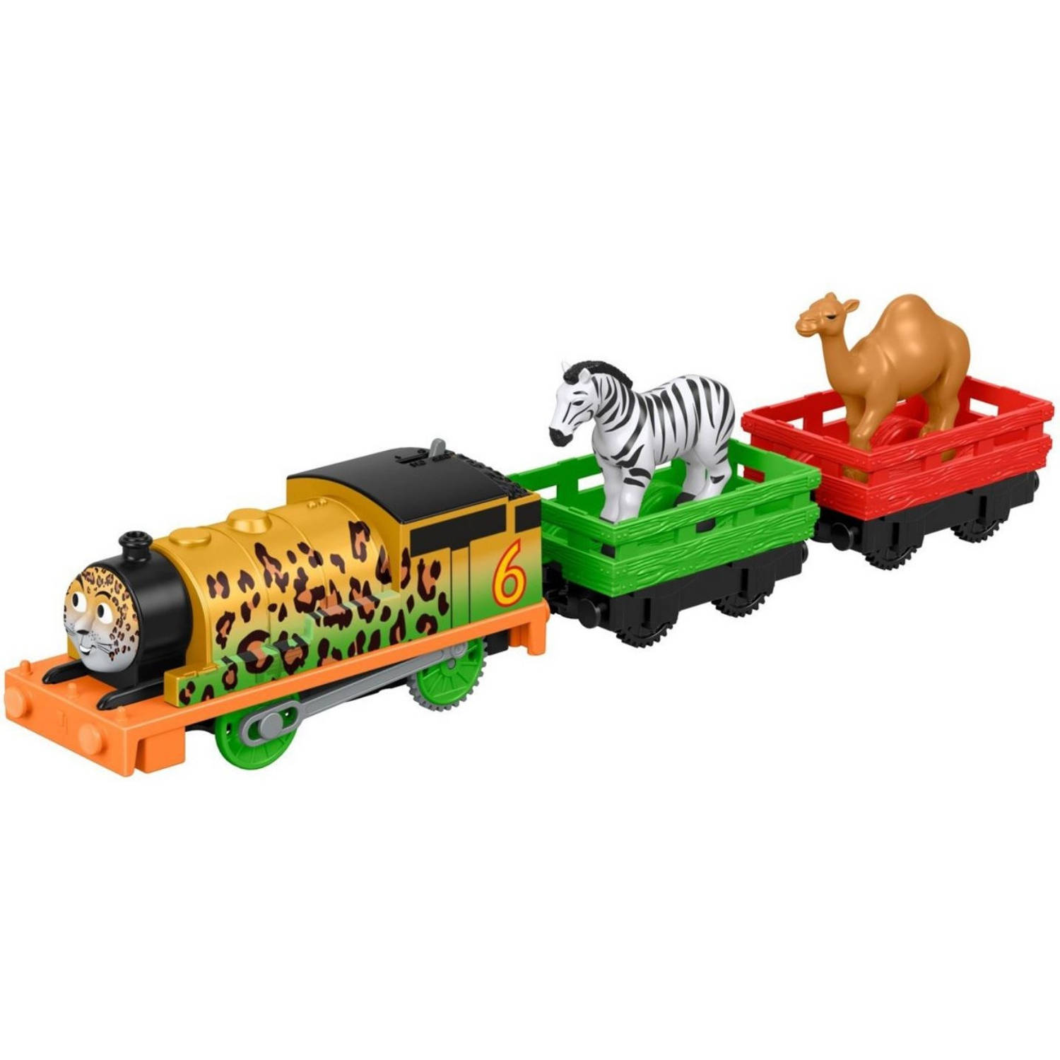 Fisher-price Thomas De Trein Track Master - Animal Party 5-delig