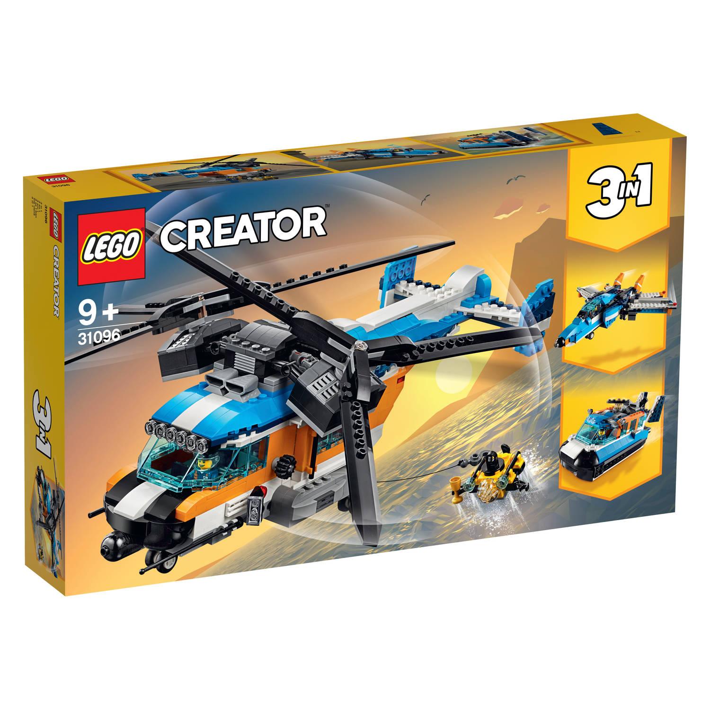 Korting Lego Creator Dubbel rotor Helikopter 31096