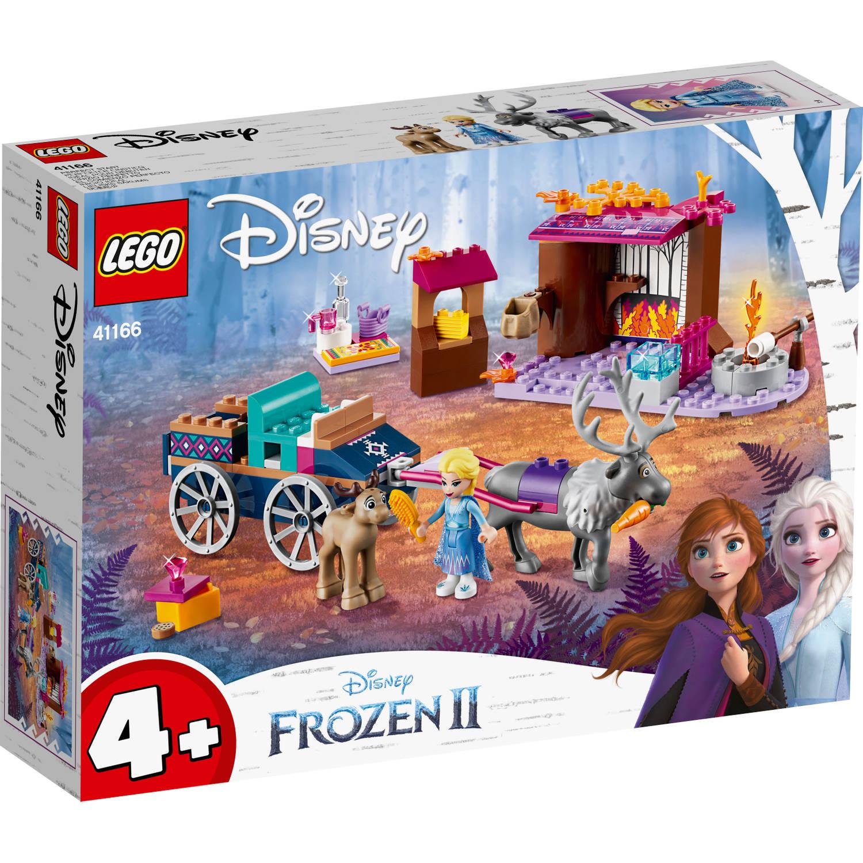 Korting LEGO Disney Frozen 2 Elsa's koetsavontuur 41166
