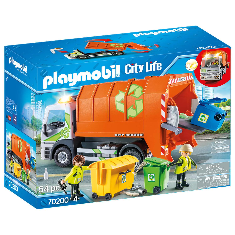 Korting PLAYMOBIL City Life afval recycling truck 70200