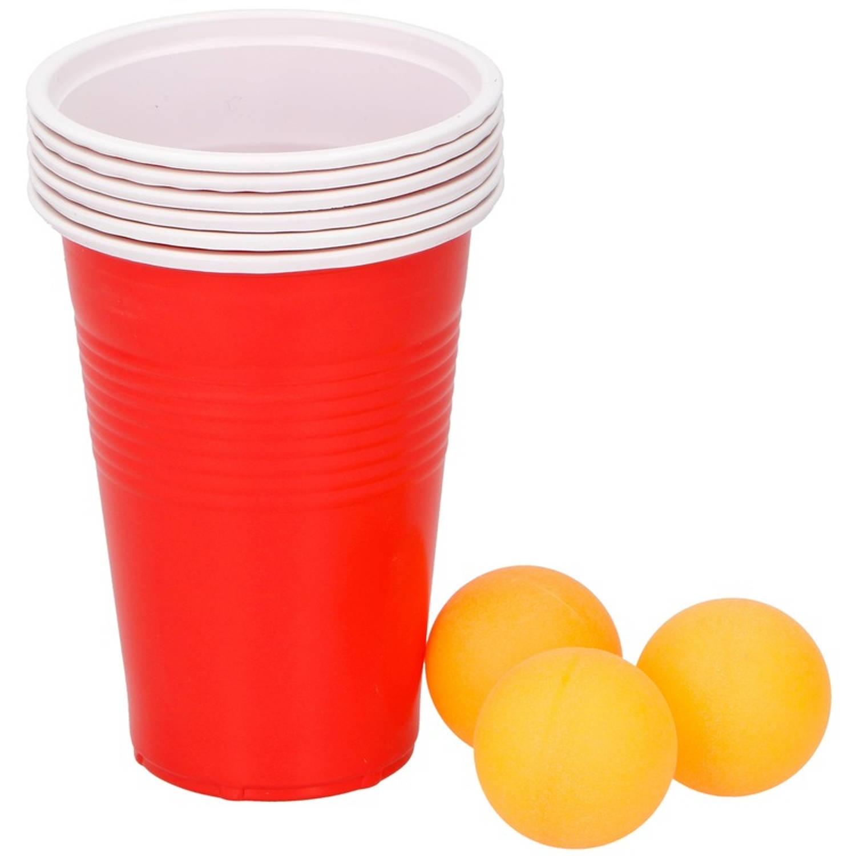 Beer Pong Drankspel-drinkspel 9 Delig Drankspellen-studentenspellen Bier Pong Herbruikbare Bekers