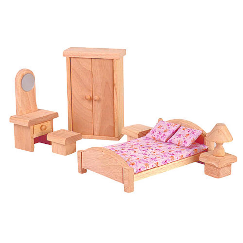 10 UPC Plantoys Puppenhaus Schlafzimmer Classic