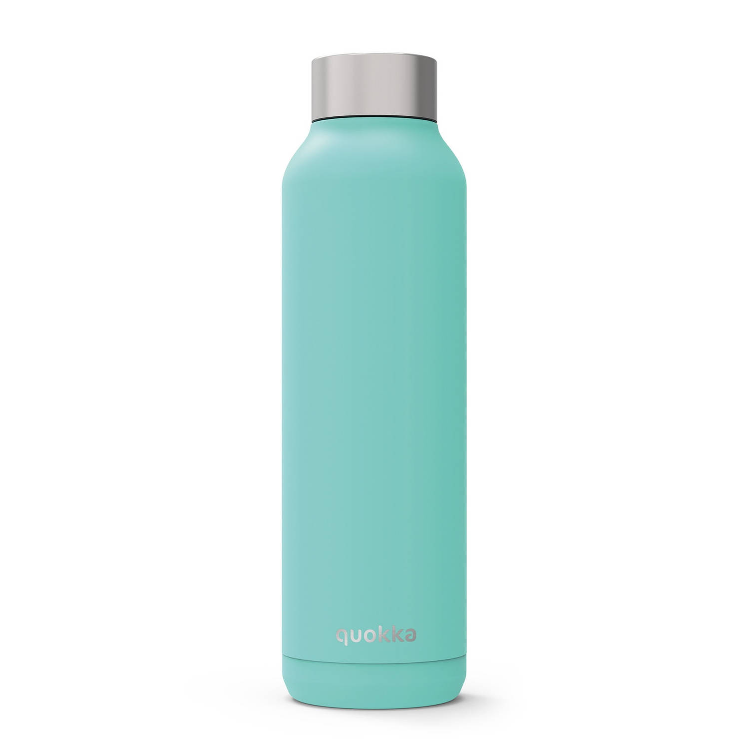 Quokka drinkfles RVS Solid Aquamarine 630 ml aqua