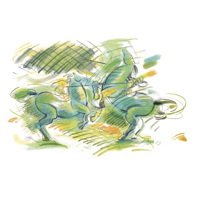 Korting Pastelpotlood Pitt 155 Fluor Turquoise