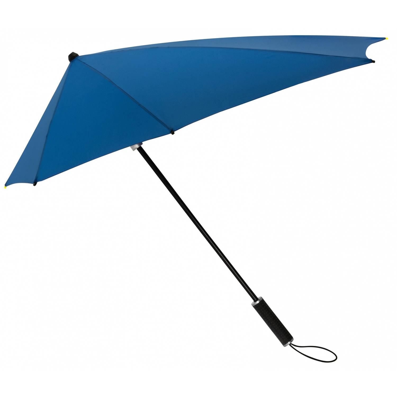Korting Impliva stormparaplu STORMaxi handopening 100 cm blauw