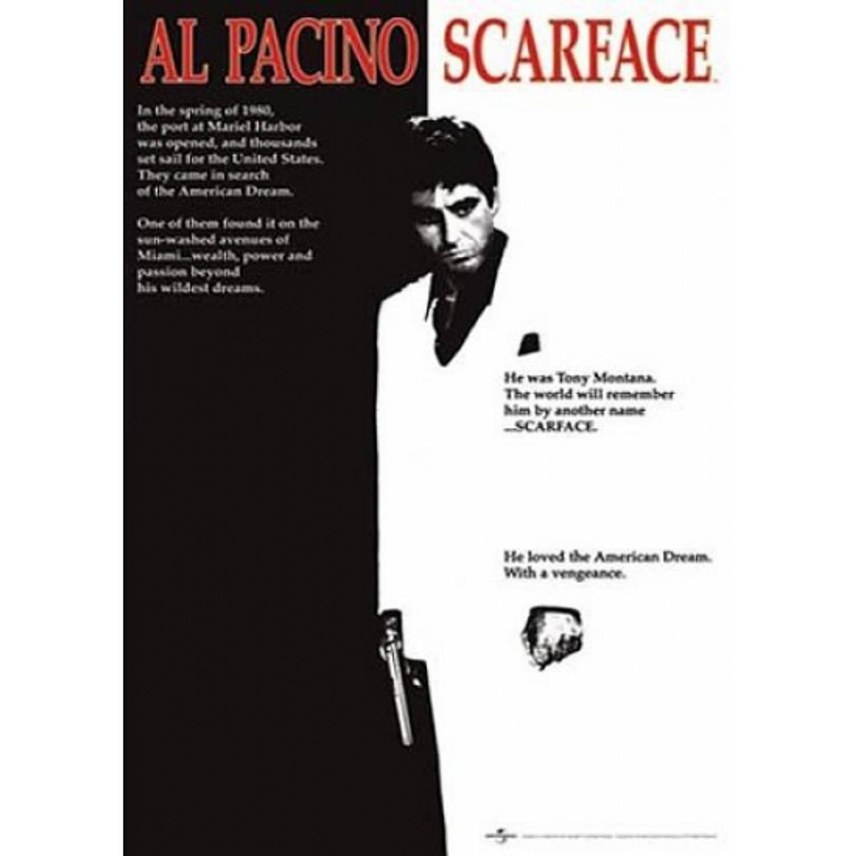 Poster Scarface Al Pacino 61 X 91,5 Cm