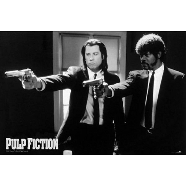 Poster Pulp Fiction Guns 61 X 91,5 Cm