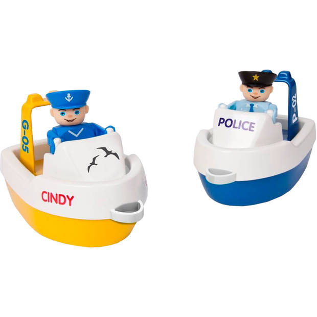 BIG Waterplay Politieboten