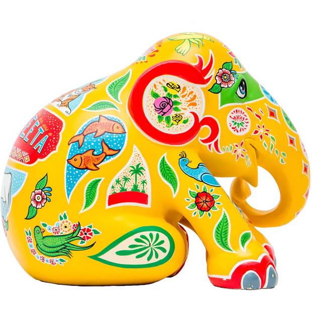 Elephant Parade Ranjeeta - Handgemaakt Olifantenstandbeeld - 20 cm