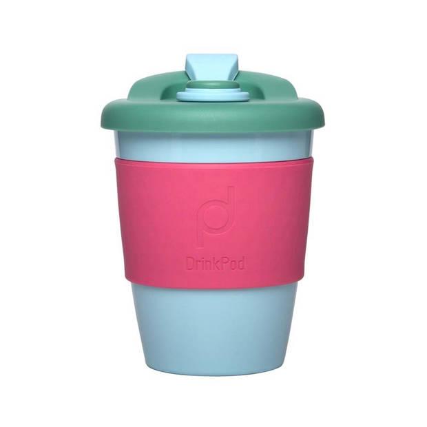 Herbruikbare Koffiebeker - 340ml - Laguna Rosa - Kunststof - Pioneer