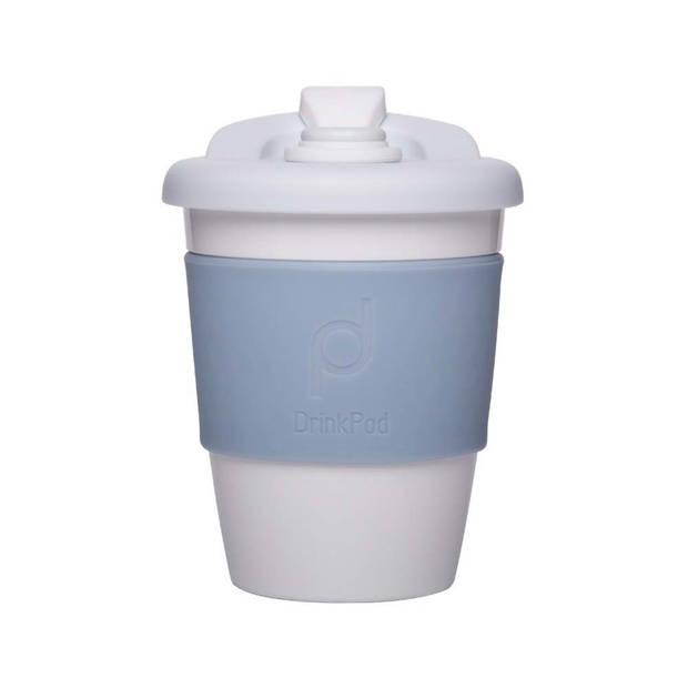 Herbruikbare Koffiebeker - 340ml - Winter White - Kunststof - Pioneer