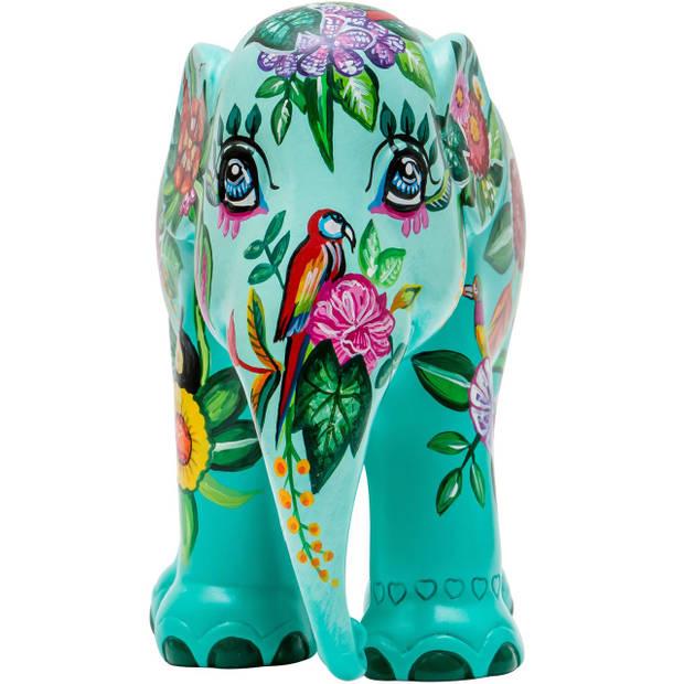 Elephant Parade Tropical Floral - Handgemaakt Olifantenstandbeeld - 15 cm