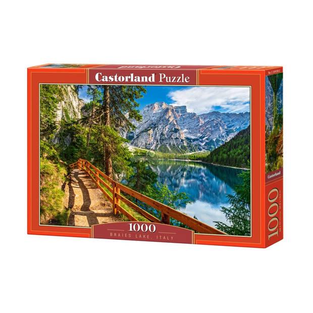 Castorland legpuzzel Braies Lake, Italy 1000 stukjes