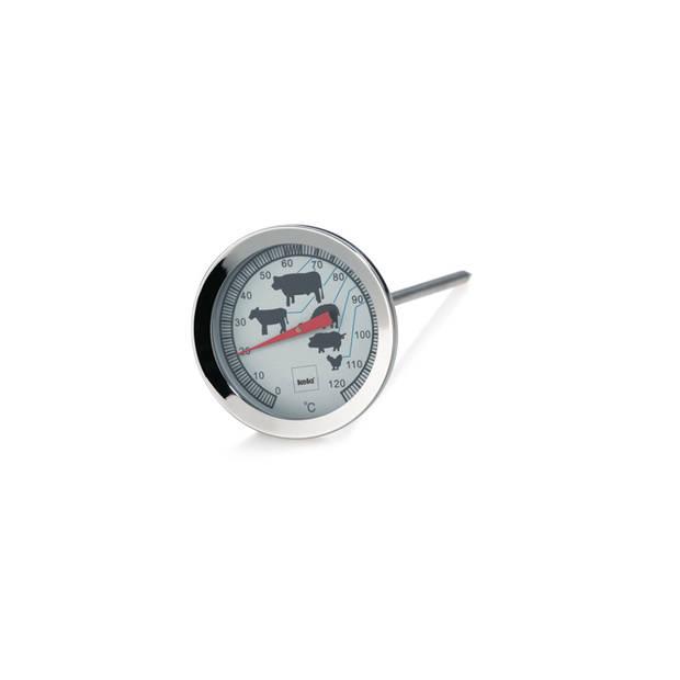 Vleesthermometer - 18/10 Staal - tot 120 °C- Kela Punkto