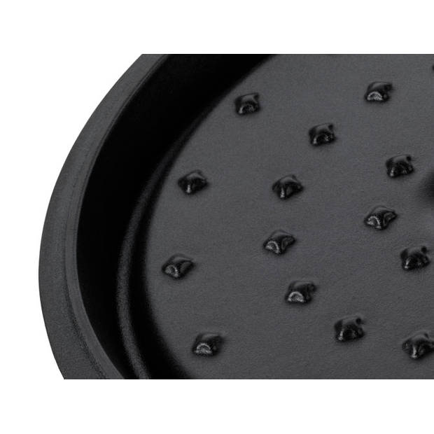 Braadpan Zwart, 20 cm - Kela Minero