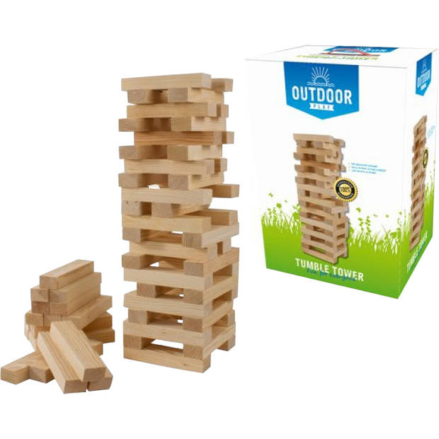 Outdoor Play Tumble Tower Wood