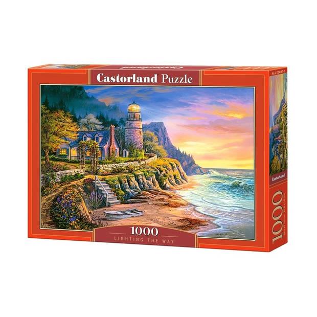 Castorland legpuzzel Lighting the Way 1000 stukjes