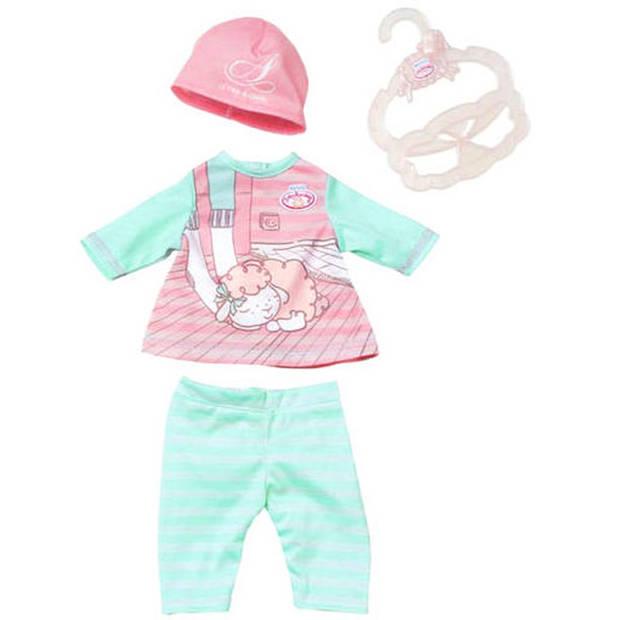 Baby Annabell kledingset voor pop tot 36 cm roze 4-delig