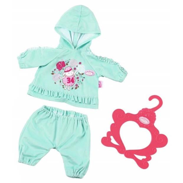 Baby Annabell kledingset Baby Suits groen 3-delig 43 cm