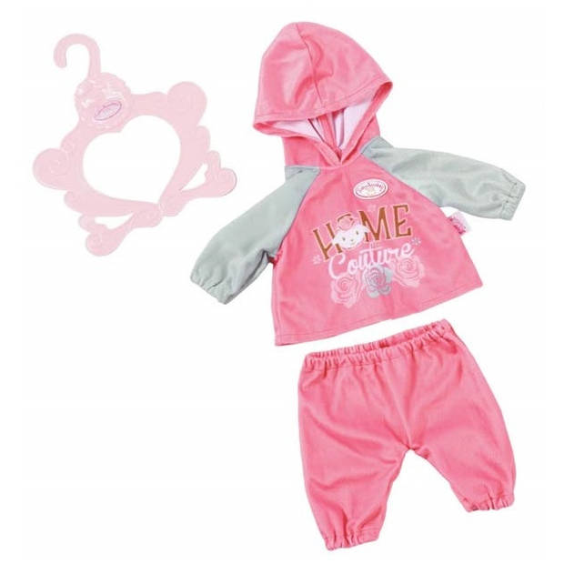Baby Annabell kledingset Baby Suits roze 3-delig 43 cm
